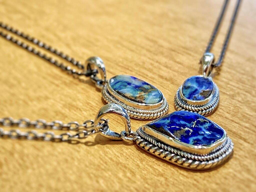 Opal Stone Necklace