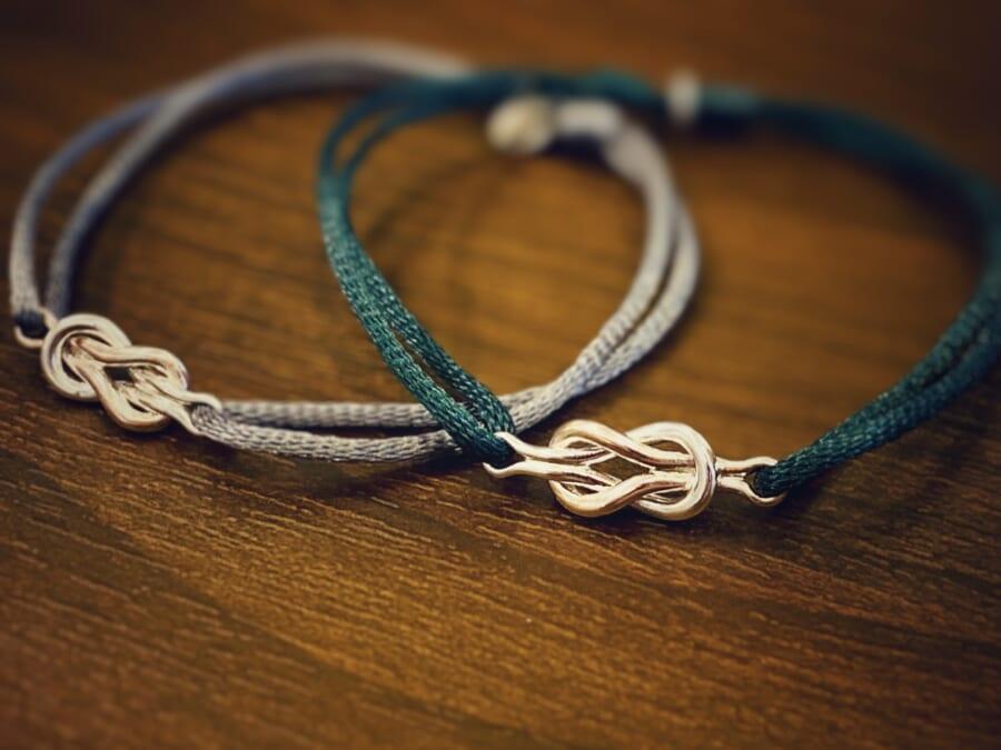 Eternal Knot Cord Bracelet