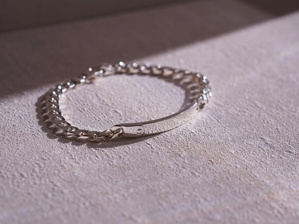 SATURNO Silver Jewelry Collection シルバー チェーンブレスレット イベント B0198-21