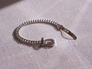 SATURNO Silver Jewelry Collection シルバー チェーンブレスレット イベント B2168-18
