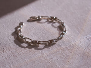 SATURNO Silver Jewelry Collection シルバー チェーンブレスレット イベント BF90-20