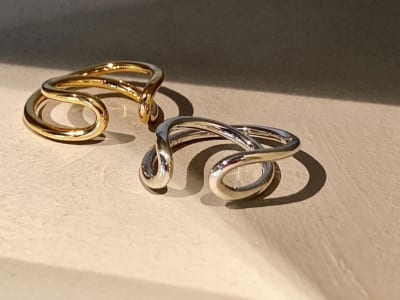 Circle Cross Ring