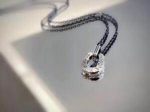 Horseshoe Amulet Necklace Laurel