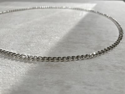 SATURNO Silver Jewelry Collection シルバー チェーンネックレス イベント B01114-50