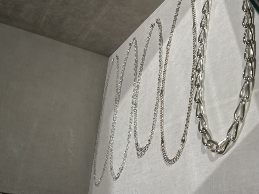 SATURNO Silver Jewelry Collection シルバー チェーンネックレス イベント