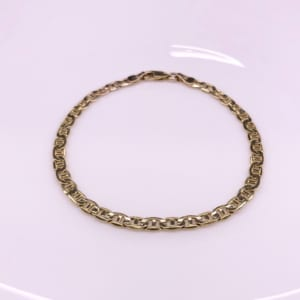Gold Jewelry from NEW YORK マリーナチェーンブレスレット2
