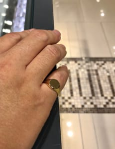 Gold jewelry from New York ring2