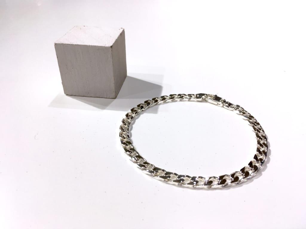Silver 925 chain bracelet 1