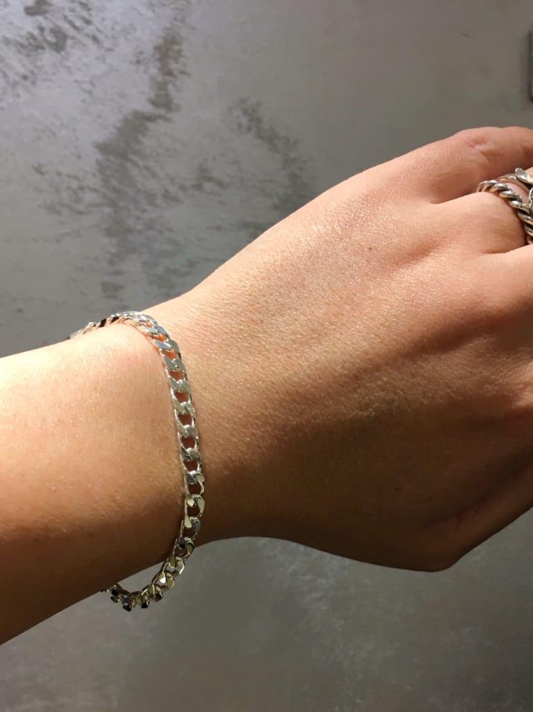 Silver 925 chain bracelet 2