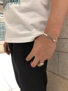Dorje Ring&Bangle 着用