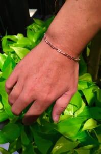 Silver Chain bracelet3