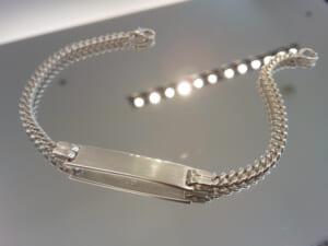 Narrow ID Chain Bracelet