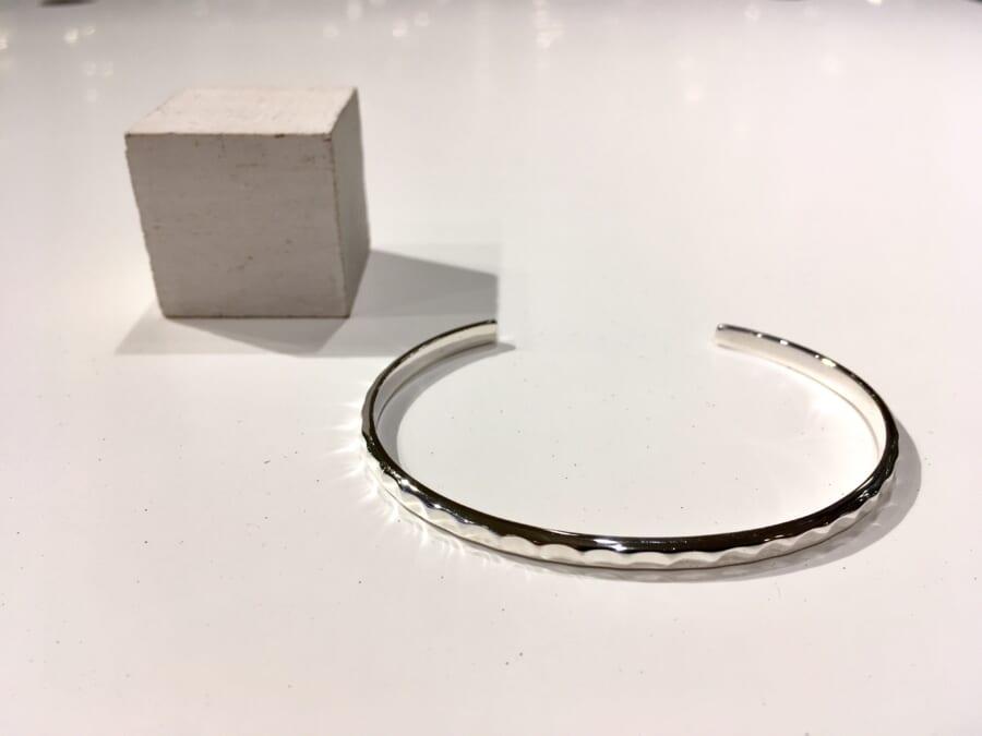 Silver bangle 1
