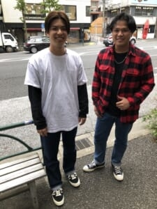 寺澤さんと前田