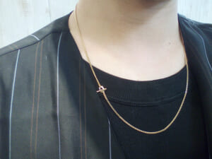 Classic-Chain-Necklace-Narrow-K18-Yellow-Gold