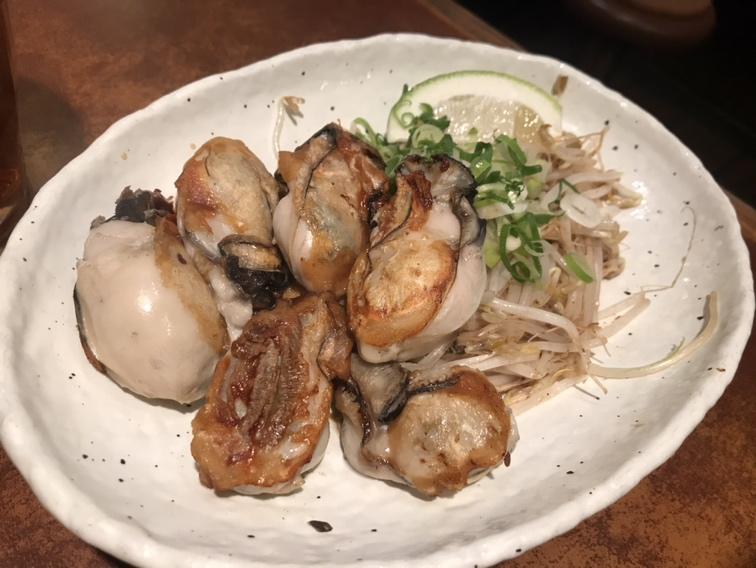 広島 牡蠣鉄板焼き