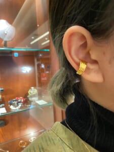Flash Ear Cuff - Gold Plated