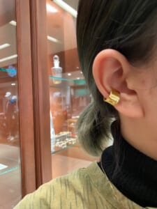 Melt Ear Cuff - Gold Plated