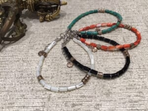 Tube Beads Bracelet