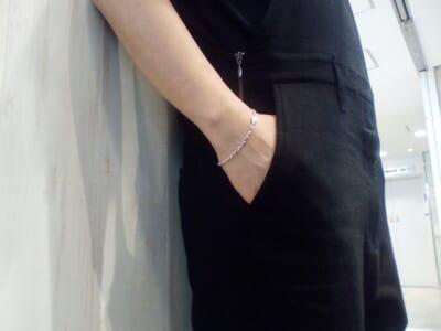 One Star Chain Bracelet-Silver-