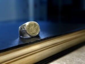Classic Coin Ring 商品写真